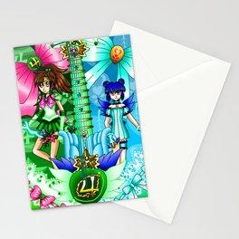 Sailor Mew Guitar #37 - Sailor Jupiter & Mew Minto Stationery Cards