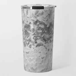 Clear Water (Black and White) Travel Mug