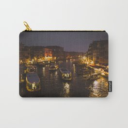 The hustle and bustle of Venice Carry-All Pouch