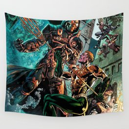 king of the seas Wall Tapestry