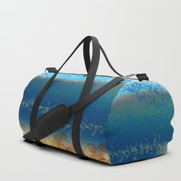 Abstract Seascape 01 w Duffle Bag