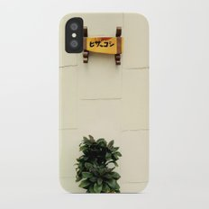 Memories from Japan Slim Case iPhone X
