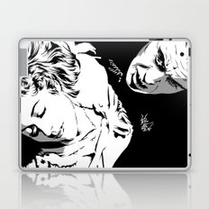 The Terrifying Lover (Mono) Laptop & iPad Skin