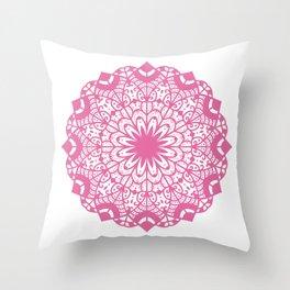 Elegant Mandala Illustration Throw Pillow