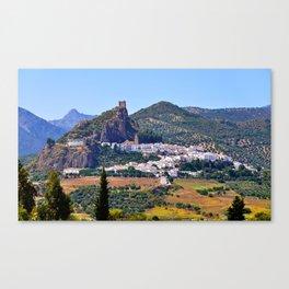 Spanish Summer Canvas Print