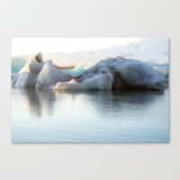 iceland Canvas Prints featuring Iceland by Tamara Rogers