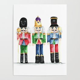 Three Little Nutcrackers Poster