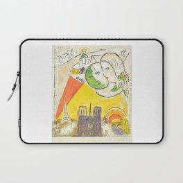 Le Dimanche (On Sundays) from Marc Chagall, 1954 Artwork Derrière le Miroir Magazine, tshirt, tee, j Laptop Sleeve