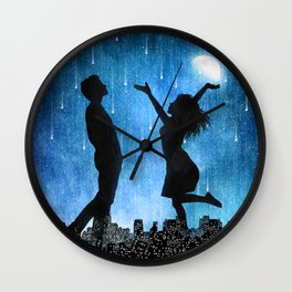 The night is ours Wall Clock