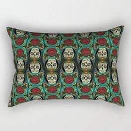 Mexican Matryoshka Rectangular Pillow