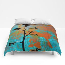 Agave Bloom Comforters