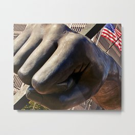 The Fist Metal Print