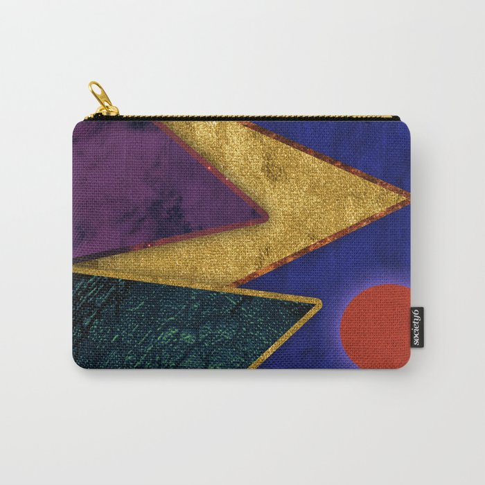 Abstract #424 Carry-All Pouch