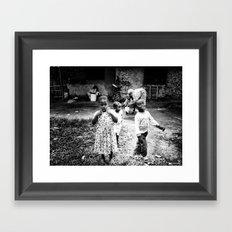 Smiles Framed Art Print