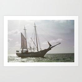 pirate ship Photography Kunstdrucke