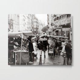 La Vie Parissiene Metal Print