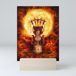 Brigid - Sun Goddess - 3D - Manafold Art Mini Art Print