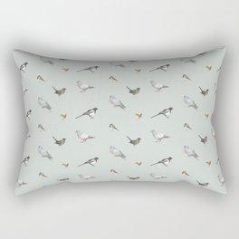 Garden birds Rectangular Pillow