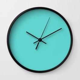 Cyan Fun Wall Clock