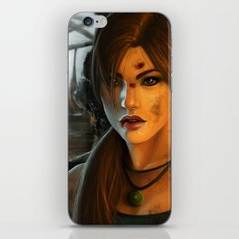 Braving the Caverns iPhone Skin