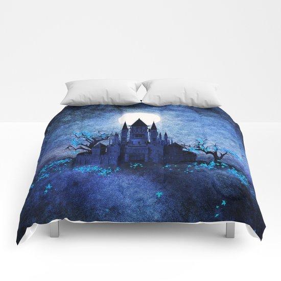 Blue autumn. Comforters