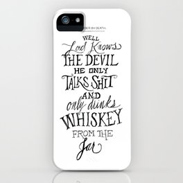 The Devil In Mexico iPhone Case