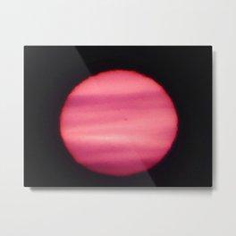 Sun Spots in Close-up sun photo Metal Print
