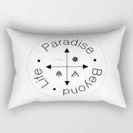 Life Compass Rectangular Pillow