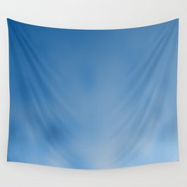 Snorkel blue ombre gradient with bokeh texture Wall Tapestry