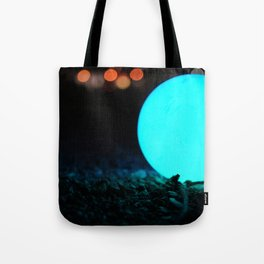 Light and Focus (Blue) Tote Bag