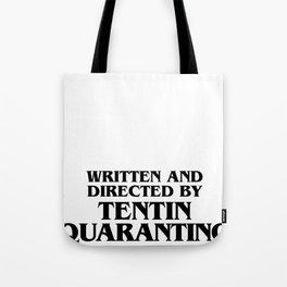 Tentin Quarantino Tote Bag