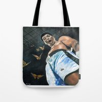 ali Tote Bags featuring Ali by ManassehJ