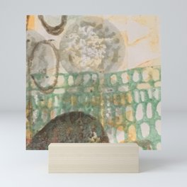 Moonrise & cricket song Mini Art Print