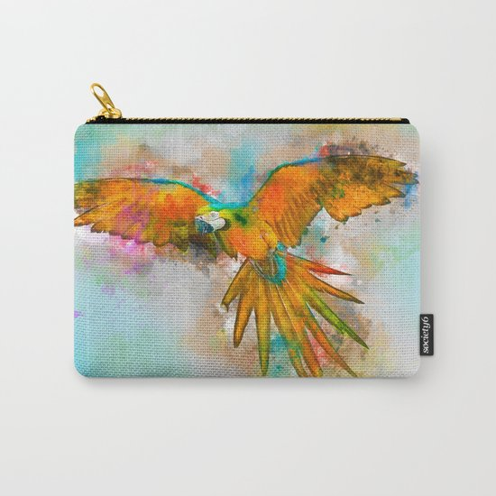 High as a Macaw Carry-All Pouch