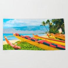 Hui wa'a O Kihei Beach Towel