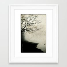 Into The Mystic Framed Art Print