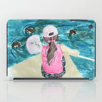 mermaids iPad Cases featuring Mermaids by Condor