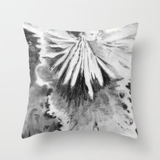 Grace in an Orchid Throw Pillow