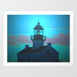 Point Loma Lighthouse (large) Art Print