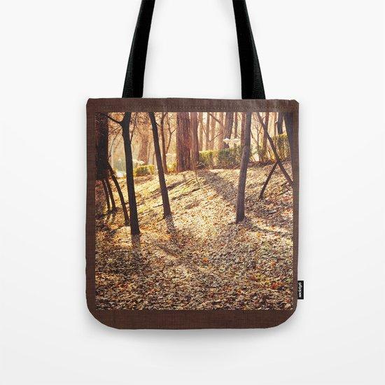 Bed of Leaves Tote Bag