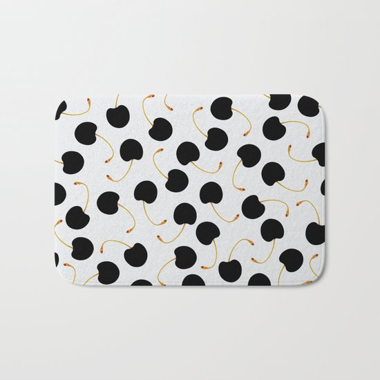 Cherries Bath Mat