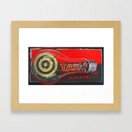 Cigarette Machine Framed Art Print