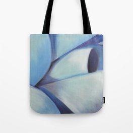 Blue Ribbon - Pastel Illustration Tote Bag