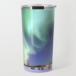 Northern Lights of Alaska Photograph Travel Mug
