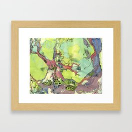 #33 Tree Hive Framed Art Print