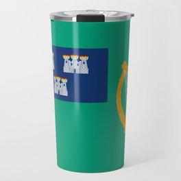 Flag of Dublin Travel Mug