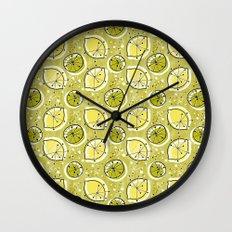 Atomic Lemonade_Green Wall Clock
