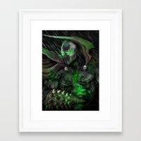 spawn Framed Art Prints featuring Spawn by Nick Fernandez