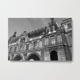 Le Louvre Metal Print