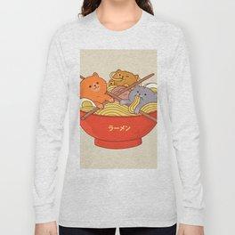 Ramen cats Long Sleeve T-shirt